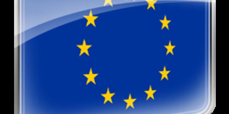 EU flag stor