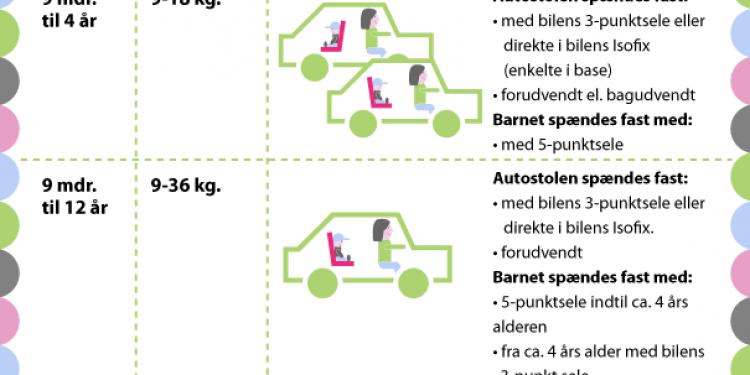 Alt du skal vide om autostole